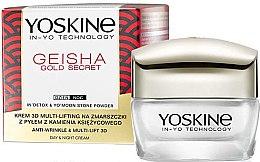 Parfumuri și produse cosmetice Cremă multi-lifting împotriva ridurilor - Yoskine Geisha Gold Secret Anti-Wrinkle & Multi-Lift 3D Cream
