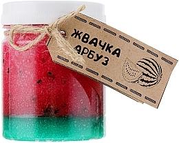 """Parfumuri și produse cosmetice Scrub pentru corp """"Gumă de pepene verde"""" - Dushka"""