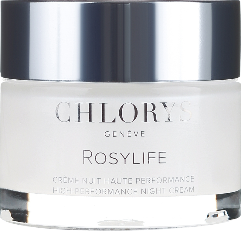 Cremă de noapte pentru față - Chlorys Rosylife High-Performance Night Cream — Imagine N2