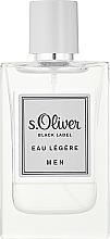 Parfumuri și produse cosmetice S.Oliver Black Label Eau Legere Men - Apă de toaletă