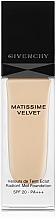 Parfumuri și produse cosmetice Fond de ten - Givenchy Matissime Velvet Liquid Foundation SPF 20