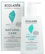 """Parfumuri și produse cosmetice Gel pentru igienă intimă """"Îngrijire zilnică"""" - Ecolatier Natural Care"""