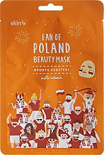 Mască multivitamină pentru față - Skin79 Fan Of Poland Beauty Mask — Imagine N1