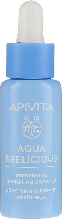 Booster revigorant și hidratant - Apivita Aqua Beelicious Refreshing Hydrating Booster With Flowers — Imagine N2