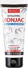 Parfumuri și produse cosmetice Gel de curățare pentru față - Beauty Formulas Exfoliating Konjac Facial Cleanser