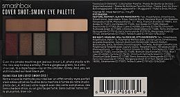 Paletă farduri de ochi - Smashbox Cover Shot Eye Palettes Smoky — Imagine N4