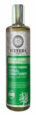 Balsam pentru păr - Natura Siberica Iceveda Iceland Moss&Indian Amla Strengthening Herbal Conditioner — Imagine N1