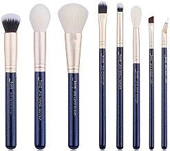 Parfumuri și produse cosmetice Set pensule pentru machiaj, T484, 8buc - Jessup
