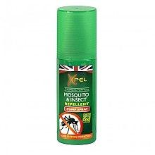 Parfumuri și produse cosmetice Gel de corp (anti-insecte) - Xpel Tropical Formula Mosquito & Insect Repellent Pump Spray