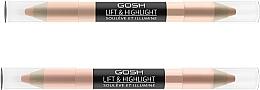 Parfumuri și produse cosmetice Iluminator - Gosh Lift & Highlight