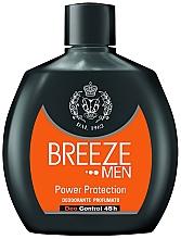 Parfumuri și produse cosmetice Deodorant - Breeze Men Power Protection Deo Control 48H