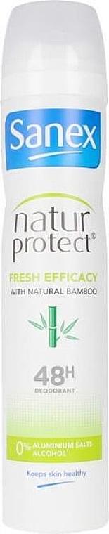 Deodorant-antiperspirant cu extract de bambus - Sanex Natur Protect 0% Fresh Bamboo Deo Vapo