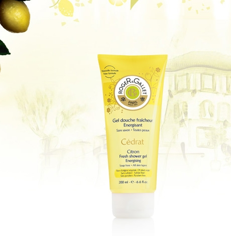 "Gel revigorant de duș ""Citron"" - Roger & Gallet Citron Fresh Shower Gel Energising — Imagine N2"