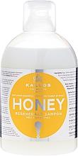 Parfumuri și produse cosmetice Șampon regenerant cu extract de miere - Kallos Cosmetics Honey Shampoo
