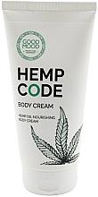 Parfumuri și produse cosmetice Cremă nutritivă cu ulei de cânepă pentru pielea uscată a corpului - Good Mood Hemp Code Body Cream