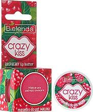 """Parfumuri și produse cosmetice Ulei pentru buze """"Zmeură"""" - Bielenda Crazy Kiss Raspberry Lip Butter"""