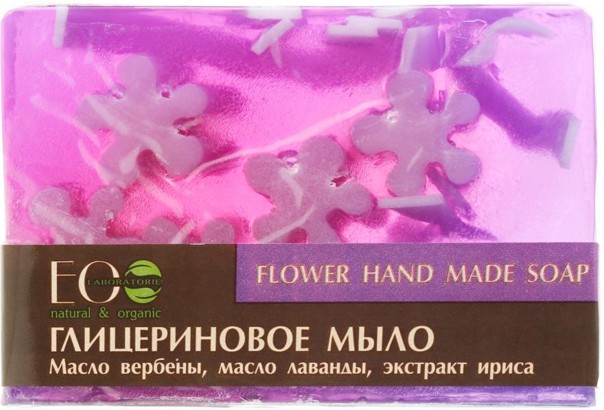 Săpun cu glicerină cu uleiuri și extracte de flori - ECO Laboratorie Flower Hand Made Soap