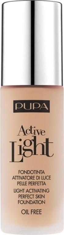 Fond de ten pentru față cu efectul luminii naturale - Pupa Active Light SPF10
