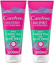 Parfumuri și produse cosmetice Set - Carefree Aloe Vera Intimate Gel (2xgel/200ml)