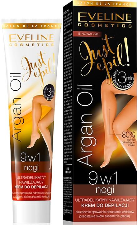Cremă depilatoare 9 în1 - Eveline Cosmetics Argan Oil