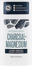 Parfumuri și produse cosmetice Deodorant natural - Schmidt's Deodorant Charcoal + Magnesium Stick