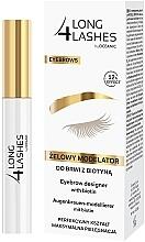 Parfumuri și produse cosmetice Gel pentru modelarea sprâncenelor - Long4Lashes Eyebrow Designer With Biotin 12h Effect