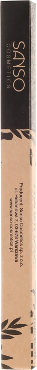 Periuță din bambus pentru dinți - Sanso Cosmetics Natural Bamboo Toothbrushes — Imagine N3