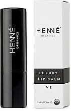 Parfumuri și produse cosmetice Balsam de buze - Henne Organics Luxury Lip Balm V2