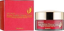Parfumuri și produse cosmetice Cremă cu ginseng pentru față - Deoproce Repair Machine Ginseng Cream