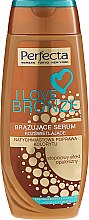 Autobronzant pentru corp - Perfecta I Love Bronze Serum — Imagine N1