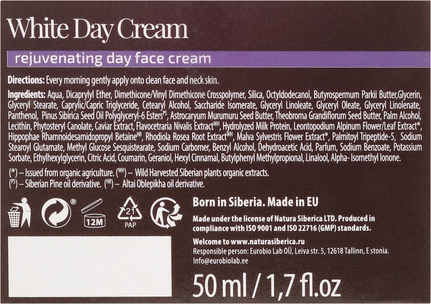 Cremă de zi pentru față - Natura Siberica Fresh Spa Imperial Caviar White Day Cream — Imagine N3