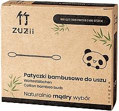 Parfumuri și produse cosmetice Bețișoare din bumbac - Zuzii Bamboo Cotton Buds