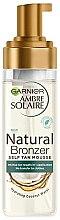Parfumuri și produse cosmetice Spumă autobronzantă pentru corp - Garnier Ambre Solaire Natural Bronzer Intense Clear Self Tan Mousse