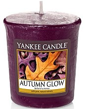 Parfumuri și produse cosmetice Lumânare aromată - Yankee Candle Scented Votive Autumn Glow