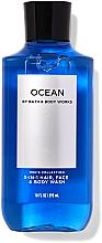 Parfumuri și produse cosmetice Soluție pentru spălarea feței, a corpului și a părului  - Bath and Body Works Men`s Collection Ocean 3 In 1 Hair, Face & Body Wash
