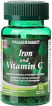 "Parfumuri și produse cosmetice Supliment alimentar ""Fier și vitamina C"" - Holland & Barrett Iron & Vitamin C"