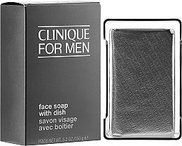Parfumuri și produse cosmetice Săpun pentru curățarea feței - Clinique For Men Face Soap With Dish