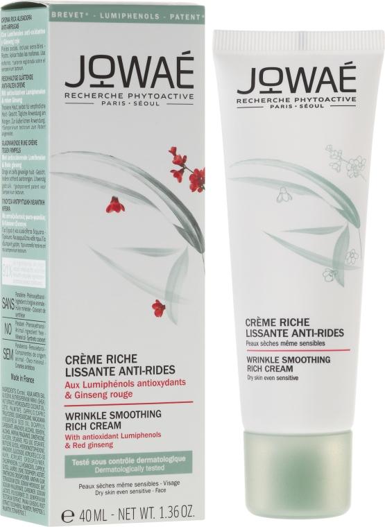 Cremă pentru ten uscat - Jowae Wrinkle Smoothing Rich Cream — Imagine N1