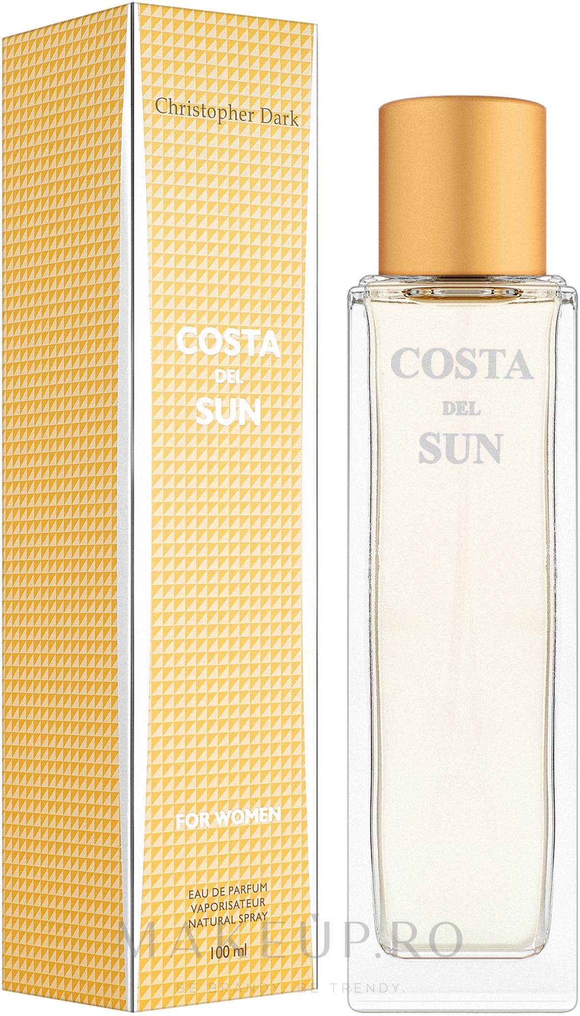 Christopher Dark Costa Del Sun - Apă de parfum  — Imagine 100 ml