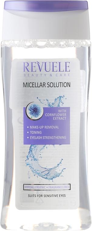 Apă micelară - Revuele Micellar Water Solution Cornflower Extract — Imagine N1