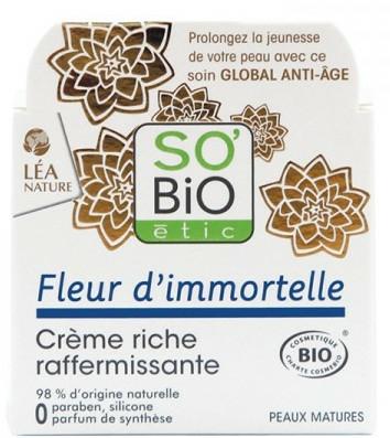 Cremă de față - So'Bio Etic Rich Firming Cream — Imagine N1