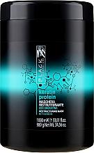 """Parfumuri și produse cosmetice Mască regenerantă pentru păr deteriorat """"Proteine de keratină"""" - Black Professional Line Keratin Protein Mask"""