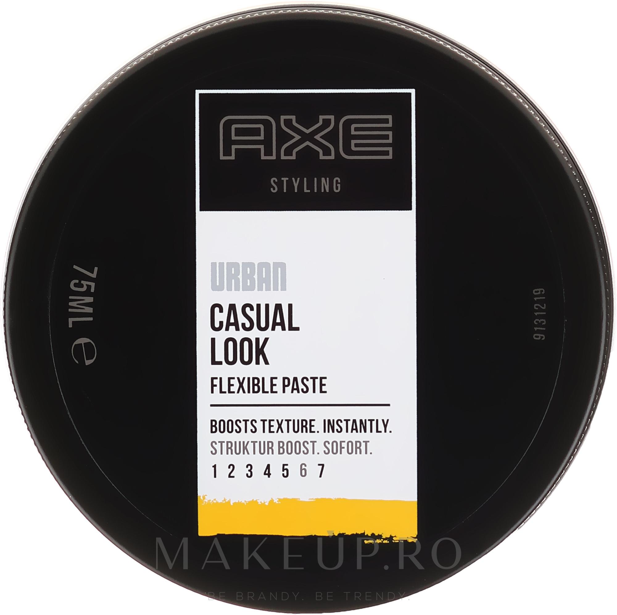 Pastă de păr - Axe Urban Casual Look Flexible Paste — Imagine 75 ml
