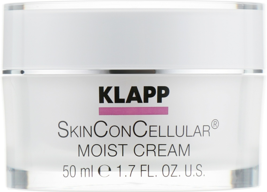 Cremă de față - Klapp Skin Con Cellular Moist Cream — Imagine N1