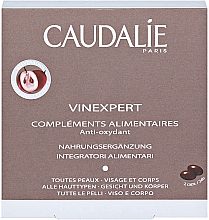 "Parfumuri și produse cosmetice Supliment alimentar ""Antioxidanți alimentari"" - Caudalie Vinexpert Dietary Anti-Oxidant Supplements"