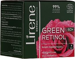 Parfumuri și produse cosmetice Cremă regenerantă de noapte pentru față - Lirene Green Retinol Regenerating Night Cream 60+