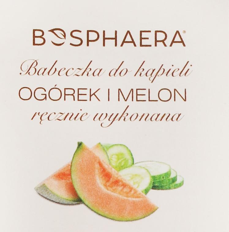 "Bombă de baie ""Castraveți și pepene galben"" - Bosphaera"