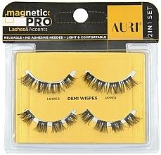 Parfumuri și produse cosmetice Gene false cu magnet - Auri Magnetic Pro Demi Wispies