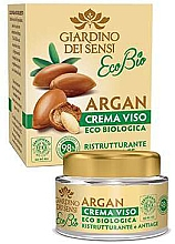 Parfumuri și produse cosmetice Cremă de față - Giardino Dei Sensi Eco Bio Argan Anti-Age Face Cream