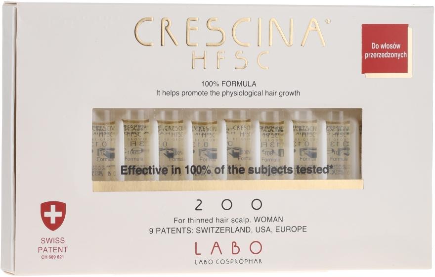 Loțiune- concentrat pentru stimularea creșterii părului - Labo Crescina HFSC Re-Growth 200